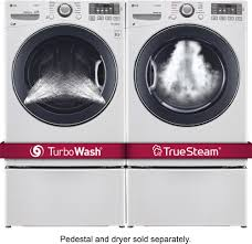 sears home theater lg turbowash 4 5 cu ft 12 cycle front loading washer with steam