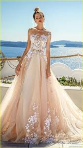 wedding dress colors 36 floral wedding dresses that are incredibly pretty floral