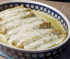turkey enchiladas with tomatillo sauce finecooking