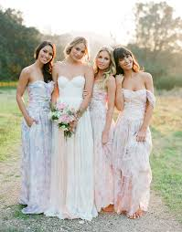 watercolor bridesmaid dresses 5 stunning modern vintage summer bridesmaids looks modern and summer