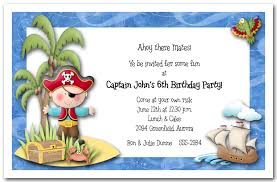 child birthday party invitations cards wishes greeting card pirate island boy birthday party invitation wording kid