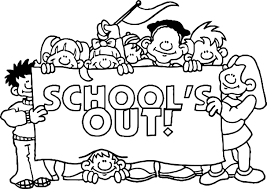 summer schools out coloring page wecoloringpage
