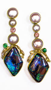 blue opal earrings 4195 best opals images on pinterest jewelry opal jewelry and rings