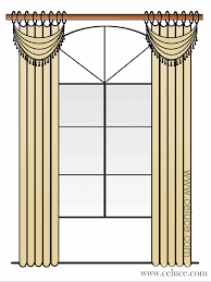 how to decorate an arch window