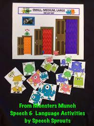 Halloween Monster Munch Speech Sprouts July 2014