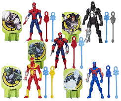 ultimate spider man web slingers toy review with lu pop poppa