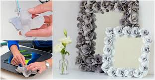How To Make A Decorative - decorative mirror with egg cartons how to instructions