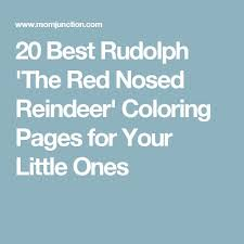 25 rudolph red nosed reindeer ideas