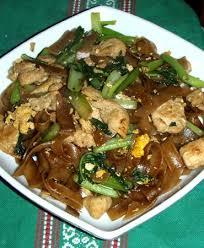 cuisine tahitienne recettes poulet sauté au pota vert et nouilles de riz une foodie à tahiti