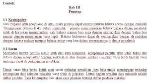 membuat kata pengantar makalah menulis bab iii penutup pada makalah muhammadsaifullah com