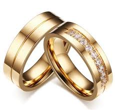 wedding rings for couples aliexpress buy new gold engagement ring jewelry