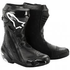comfortable motorcycle riding boots bota alpinestars supertech r preta marquinhomotos acessórios