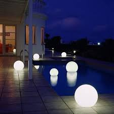 Floating Solar Pond Lights - floating pool lights create a unique lighting experience in your