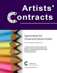 carfac ontario artists u0027 contracts agreements for visual and