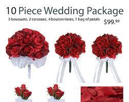 silk wedding flower packages silk wedding flowers etsy