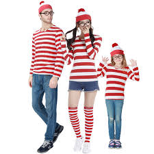 where s waldo costume where s wally family costumes united kingdom comic