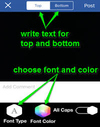 Add Text To Meme - iphone app to create custom memes by capturing photos