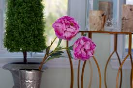Faux Peonies Get Your Faux Green On U2013 Ramshackle Glam