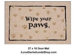 Buy Wipe Your Paws Door 11 Best Dachshund Doormats U0026 Rugs Images On Pinterest Dachshunds