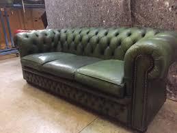 vintage chesterfield sofa antique bottle green vintage chesterfield sofa in falkirk gumtree