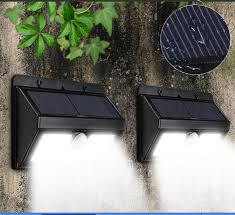 stick up led lights 2018 45led outdoor led solar l pir ultra bright wall lawn garden