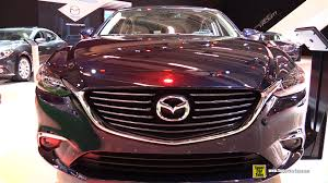 mazda car models 2016 2016 mazda 6 skyactive exterior and interior walkaround 2015