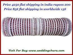 Indian Wedding Chura Wedding Chura Bridal Chura Suhaag Bangles Peacock Chura Youtube