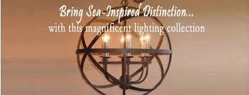 Coastal Outdoor Light Fixtures Coastal Chandeliers Iron Rope Driftwood Sea Glass Nautical