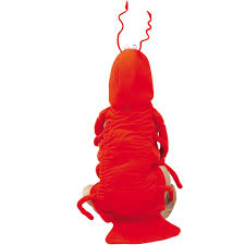 Lobster Costume Casual Canine Lobster Costume Large