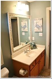 Beachy Bathroom Mirrors Bathroom Mirror Best Nautical Mirror Ideas On Nautical Wall