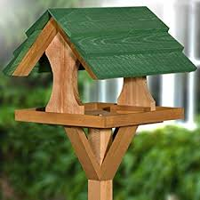 Bird Table L Chislet Fully Assembled Bird Table Co Uk Garden Outdoors