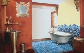 bathroom design idea mixing traditional and contemporary styles
