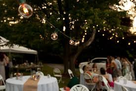 outdoor wedding lighting easy and glamorous diy outdoor wedding lighting warisan lighting