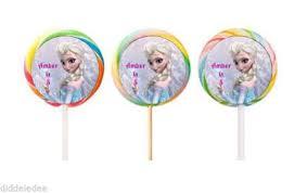 labels for party favors 60 disney frozen stickers lollipop labels party favors 1 1 2 inch