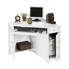 White Corner Writing Desk by Home Decorators Collection Oxford White 50 In W Corner Computer