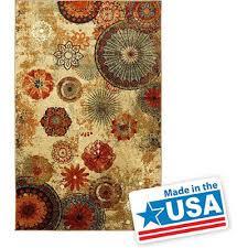 amazon com new medallion floral shapes area rug 8 feet x 10 feet