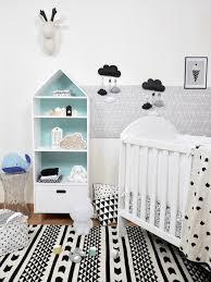 photo chambre bébé déco chambre bébé en noir et blanc deco clem atc