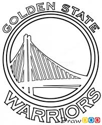 golden state warriors basketball coloring page golden state