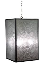 lighting chain by the foot anni chandelier cast resin faux bois detail includes canopy 3