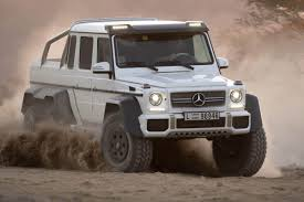 mercedes 6 wheel pickup mercedes g63 amg 6x6 makes production evo