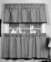 Black Gingham Curtains Curtain Bright Curtains Kitchen Accessories Sets