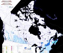 Canada On Map by Atlas Map Of Canada New Zone