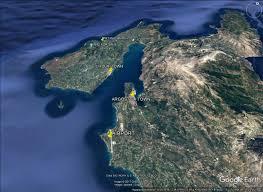 Kefalonia Greece Map by Plot For Sale Near Petanoi Beach
