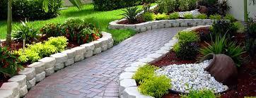 south florida landscape design ideas with stone architecture