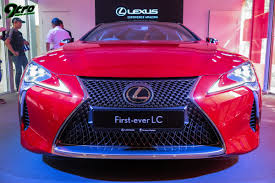 lexus in singapore lexus lc singapore launch 9tro