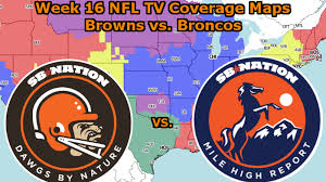 Nfl Coverage Map Browns Tv Coverage Dawgs By Nature