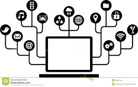 computers function icons royalty free stock photo image 30061145