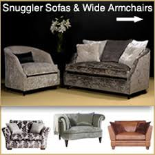 Wide Armchairs Loveseat Sofas Snuggler Two Seater Settees U0026 Wide Armchairs