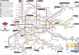 Map Of Madrid Spain by Madrid Underground Map Madrid Spain U2022 Mappery