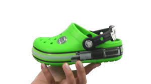 star wars crocs light up crocs kids crocslights star wars yoda little kid sku